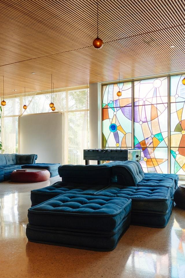 Glas in lood modern gebruik